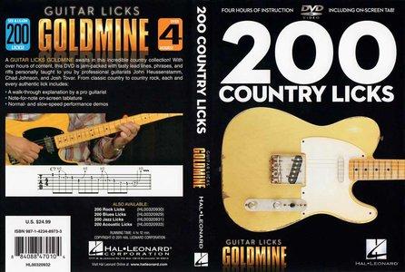 Guitar Licks Goldmine - 200 Country Licks [repost]