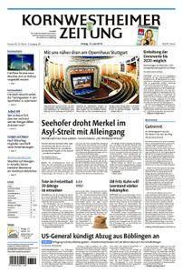 Kornwestheimer Zeitung - 15. Juni 2018
