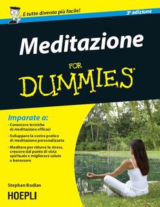 Stephan Bodian - Meditazione For Dummies (2014) [Repost]