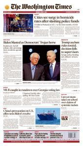 Washington Times - April 5, 2021
