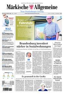 Neue Oranienburger Zeitung - 16. Oktober 2018