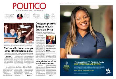 Politico – October 08, 2019