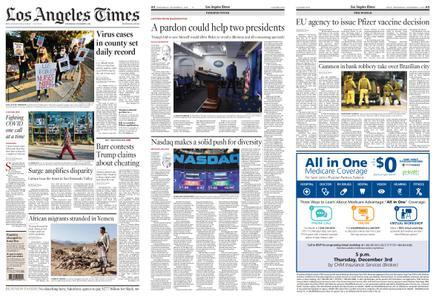 Los Angeles Times – December 02, 2020