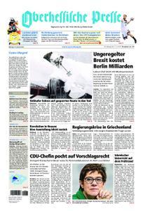 Oberhessische Presse Marburg/Ostkreis - 14. Januar 2019