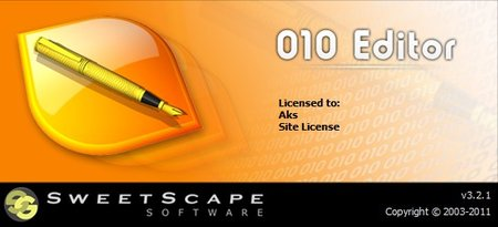 Sweetscape Software 010 Editor 3.2.2