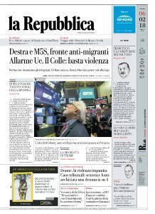 la Repubblica - 6 Febbraio 2018