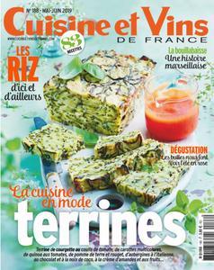 Cuisine et Vins de France - mai 2019