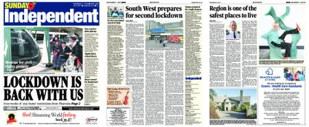 Sunday Independent Bristol Yeovil and Somerset – November 01, 2020