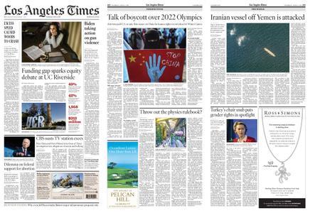 Los Angeles Times – April 08, 2021