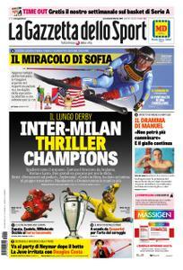 La Gazzetta dello Sport Roma – 06 febbraio 2019