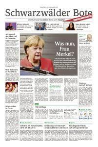 Schwarzwälder Bote Hechingen - 21. November 2017