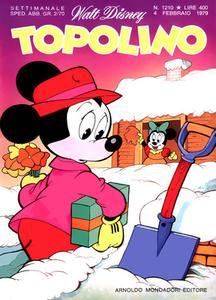 Topolino 1210 - Topolino e l'inventore degli alberi (02/1979)