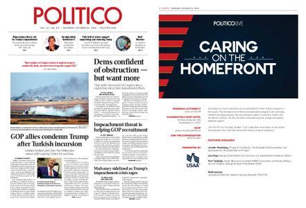 Politico – October 10, 2019
