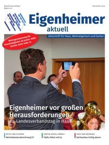 Eigenheimer aktuell – November 2019