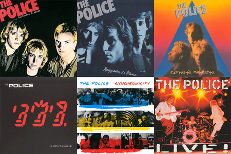 The Police - SACD Reissue Collection (1978-1985) [Remasters 2003] PS3 ISO + Hi-Res FLAC / RE-UP