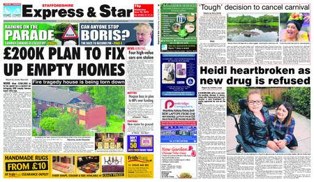 Express and Star Staffordshire Edition – June 19, 2019