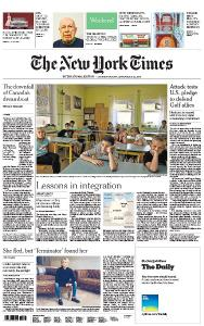 International New York Times - 21-22 September 2019