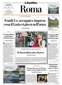 la Repubblica Roma – 26 maggio 2019