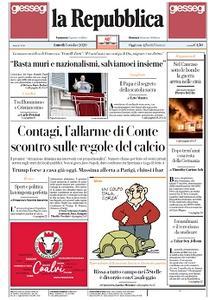la Repubblica - 5 Ottobre 2020