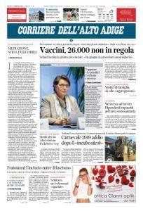 Corriere dell'Alto Adige - 10 Febbraio 2018