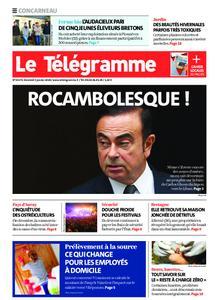 Le Télégramme Concarneau – 03 janvier 2020