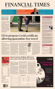 Financial Times Asia - March 17, 2021