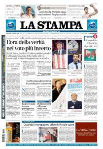 La Stampa Torino Provincia e Canavese - 4 Marzo 2018