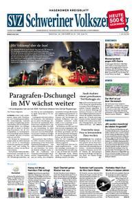 Schweriner Volkszeitung Hagenower Kreisblatt - 22. Oktober 2018