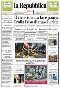 la Repubblica - 5 Luglio 2020