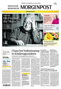 Solinger Morgenpost – 25. April 2020