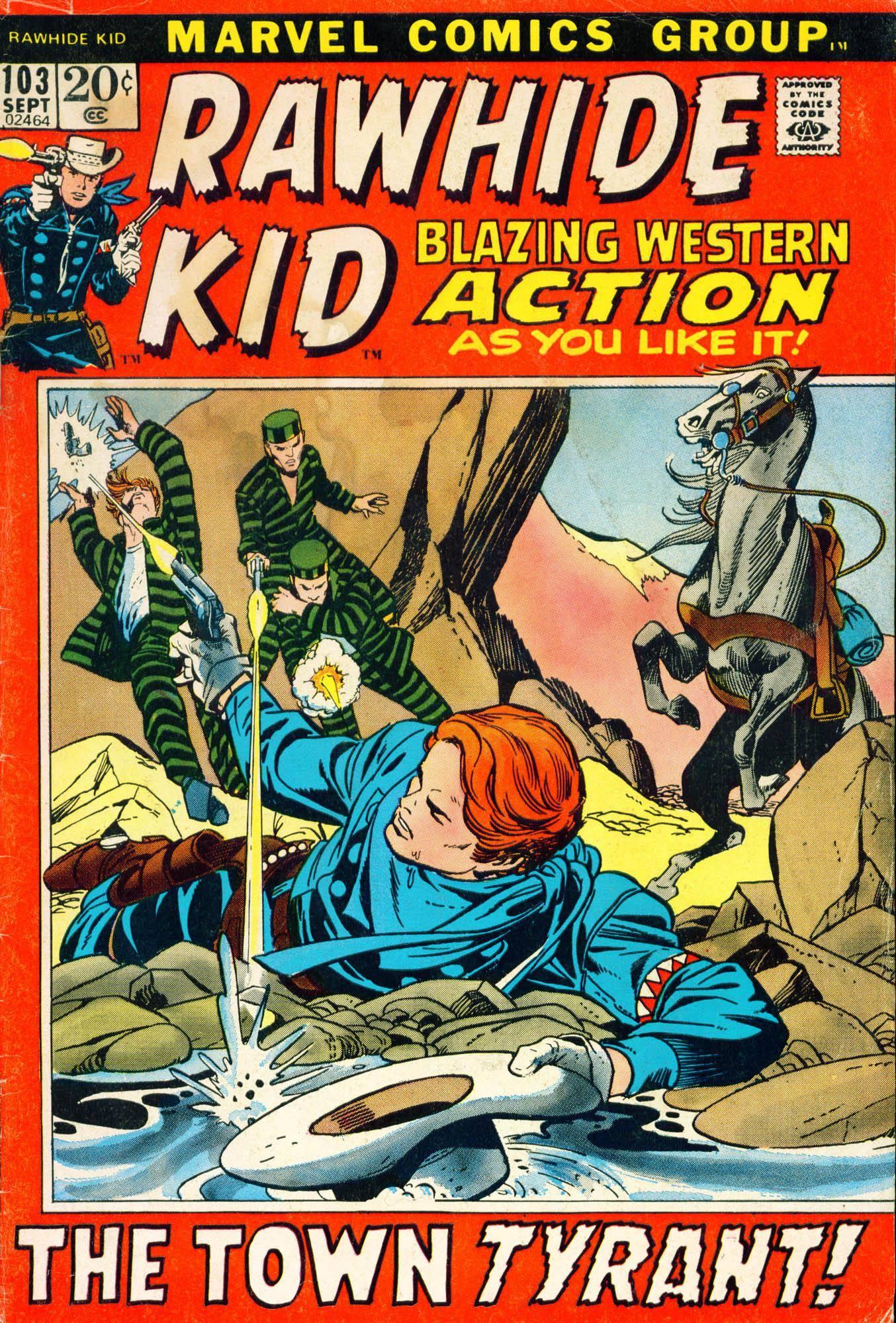 Rawhide Kid v1 103 1972