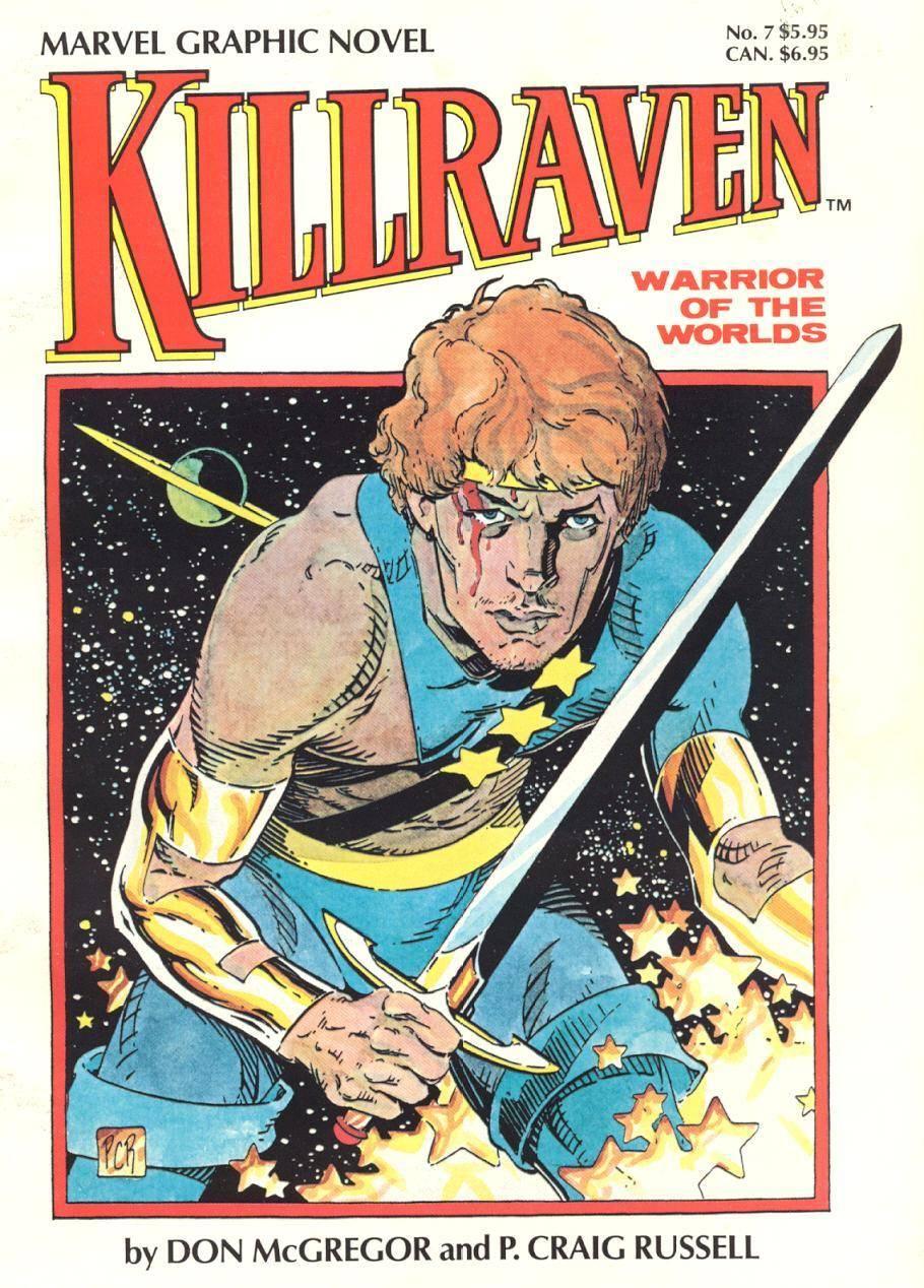 Marvel Graphic Novel 07 - Killraven - Warrior of the Worlds