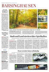 Barsinghausen/Wennigsen - 26. Oktober 2017