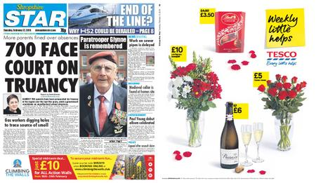 Shropshire Star Shrewsbury Edition – February 12, 2019
