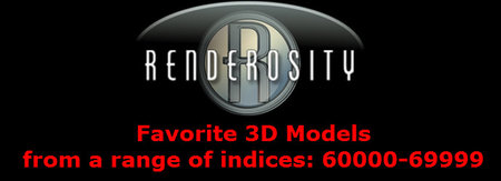 Renderosity 3D Collection. Part IV. + Bonus