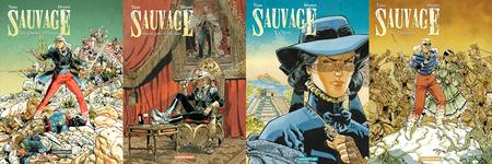 Sauvage - 4 Tomes