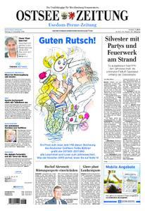 Ostsee Zeitung Wolgast - 31. Dezember 2018