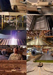 National Geographic - Ultimate Factories: M1-Tank (2008)