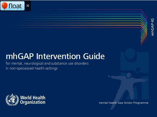 Intervention Guide for Mental