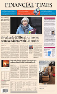 Financial Times Europe – 28 March 2019