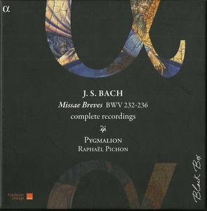 Pygmalion, Raphaël Pichon - J.S. Bach: Missæ Breves complete recordings BWV 232-236 (2013)