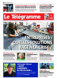 Le Télégramme Auray – 06 avril 2020