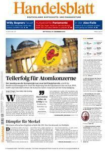 Handelsblatt - 07. Dezember 2016