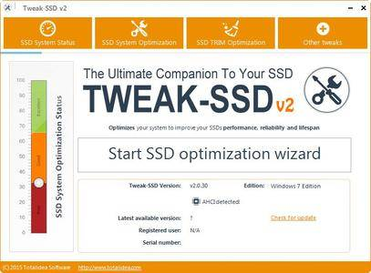 Tweak-SSD 2.0.50 Portable