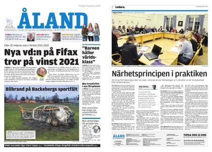 Ålandstidningen – 28 januari 2020