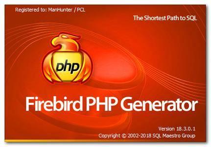 Firebird PHP Generator Professional 18.3.0.1 Multilingual