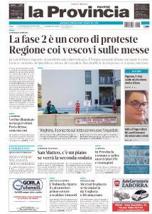 La Provincia Pavese - 28 Aprile 2020