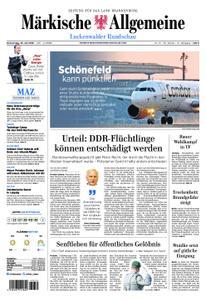 Märkische Allgemeine Luckenwalder Rundschau - 25. Juli 2019