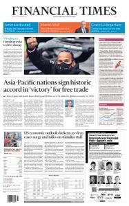Financial Times Asia - November 16, 2020