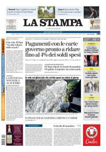 La Stampa Torino Provincia e Canavese - 27 Settembre 2019